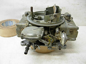 1966 Chevy 327 Factory Holley Carburetor 3230 Dated 611 3875964 Db Chevelle