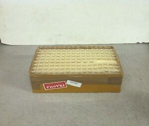 New Box Of 283 1 X 2 Small Clear Glass Vials D13 0390