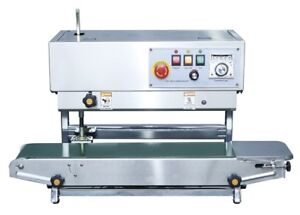 Fr 900 Stainless Steel Dual Vertical And Horiz Bag Band Sealer From California