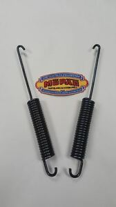 1941 Plymouth Brand New Hood Spring Pair Mopar Special Deluxe 41 P11 P12 Coupe