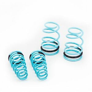 Traction s Lowering Springs Powder Coated Set Fits Fitsd Mustang 2005 10