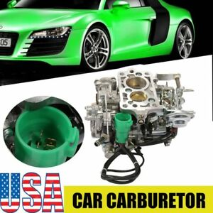 New For Toyota Trucks Carb 1981 1987 22 R 2 Bbl Green Round Plug 1982 83 84 85