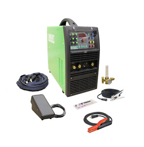 Powertig 315lx Gtaw p 315amp Acdc Tig Stick Advance Pulse Welder By Everlast
