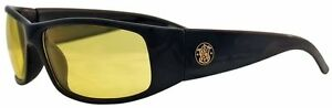 Smith Wesson Elite 21305 Black Safety Glasses Amber Anti fog Lens 3016314