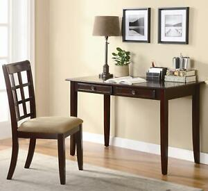 Coaster Furniture 800780 Home Office Desk And Chair Set Cherry Finish