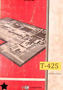 Tos Sus Sss 63 80 Lathe Operations Service And Parts Manual Year 1974