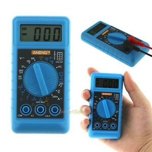 Mini Pocket Dmm Lcd Digital Multi Meter Ohm Test Voltmeter Ammeter With Buzzer