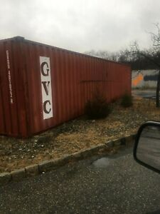 Storage Containers Used 40 Conex Box Shipping Container Newark Nj Steel