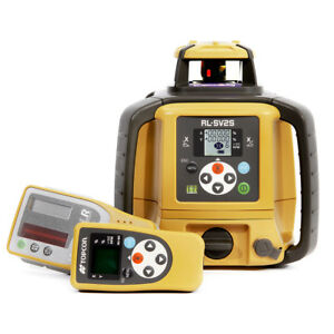 Topcon Rl sv2s High Accuracy Dual Slope Dry Battery Laser Level 313990752