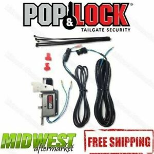 Pop Lock Power Tailgate Lock Kit Fits 2007 2020 Toyota Tundra 2016 2020 Tacoma