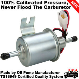 Hep 02a Low Pressure Universal 12v Electric Fuel Pump Inline Petrol Gas Diesel