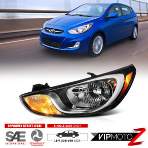 For 2012 2014 Hyundai Accent factory Style Driver Side Headlight Assembly Lh