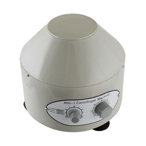 Electric Centrifuge Machine Lab Medical Practice 4000rpm W 6x 20ml Rotor