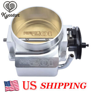 New 102mm Throttle Body For Gm Gen Iii Ls1 Ls2 Ls6 Ls3 Ls7 Chevrolet Camaro 5 7l