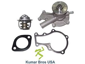 New Kubota Gr2110 Gr2120 2 Gr2120b 2 Water Pump With Thermostat
