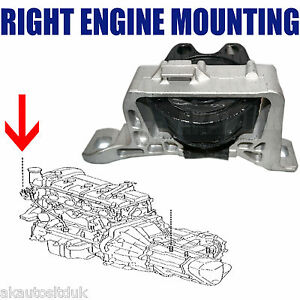 For Mazda 3 2 0 2 3 Mps 2002 2009 Front Right Engine Mount Mounting