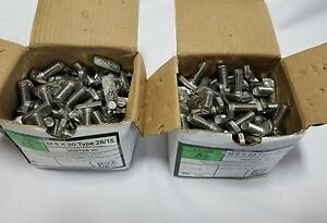 Lot Of 200 1 Hammer Head Stainless Steel Bolts Type 28 15 Skbawa 000