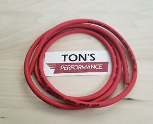 Msd Ignition 34039 Red 6 Ft Length 8 5mm Super Conductor Spark Plug Wire Rolls