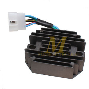 12v Voltage Regulator For Kubota Tractor B8200d B8200hst d B8200e B8200hst e