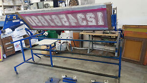 Screen Printing Number Press