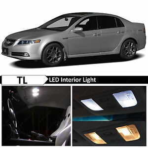 15x White Interior License Plate Led Lights Package Kit For 2004 2008 Acura Tl