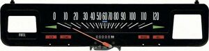 69 74 Nova Speedometer Without Console Gauges
