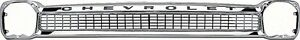 64 66 Chevy Truck Chrome Grille With Chevrolet Lettering