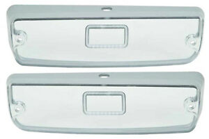 71 74 Charger Front Park Lamp Lenses