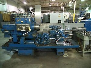 Warner Swasey 5 Square Head Turret Lathe W Chuck And Bar Feed