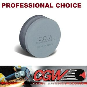 Two In One Cgw Dual Grit Round Combination Stone Green Silicon Carbide