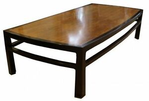 Mid Century Modern Wormley For Dunbar Rare Mahogany Rectangular Coffee Table