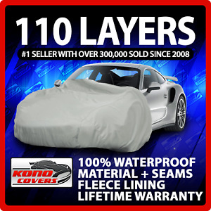 Pontiac Fiero Notchback 1984 1988 Car Cover 100 Waterproof 100 Breathable