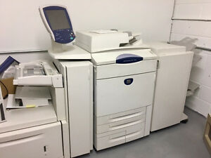 Xerox 250 Colored Copier Used In A Small Print Shop In Excellent Condition