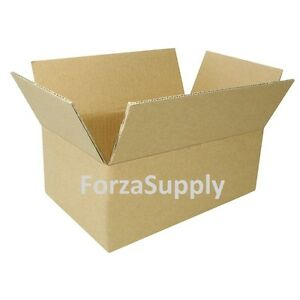 8 Corrugated Cardboard Boxes Shipping Supplies Mailing Moving Choose 15 Sizes