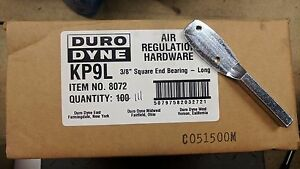 Duro Dyne 8072 Kp9l 3 8 Square End Bearing Long Air Reg Hardware 111 Pcs