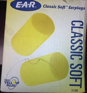3m Ear Plugs 31db cordless univ pk200 311 6000
