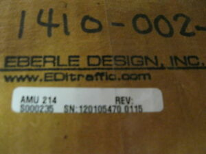 Eberle Design Inc Amu 214 Monitor Auxillary Unit New In Original Box And Package
