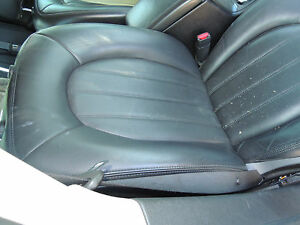 Beautiful Oem Buick Lucern Black Front Rear Leather Seats 275