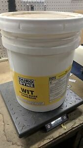 Duro Dyne 5057 Wit 5 Water Based Adhesive Duct Liner Glue 5 Gallon White