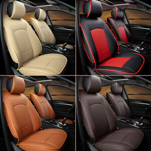 Car Seat Cover For Ford F 150 2010 2018 5 seats Front Rear Pu Leather Cushion