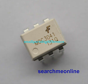 100 200pcs Moc3041m Dip 6 Optoisolators Fsc Original wholesale