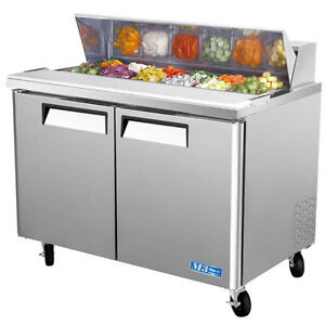 48 Commercial Sandwich Prep Table Sandwich Unit Cooler
