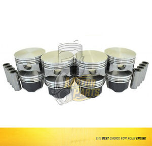 Piston Set Fits Gm Camaro Corvette Gto 5 7 L Ls1 Ls6 flat Ohv Size 030