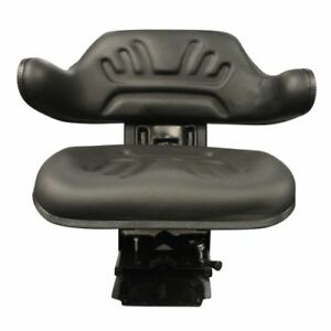 Multi Angle Black Wrap Around Seat For Tractor Mower