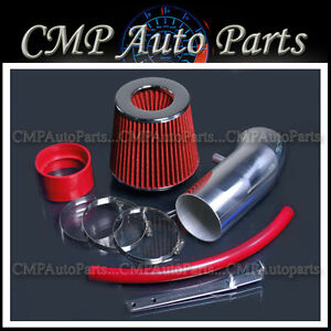 Red Air Intake Kit For 2011 2016 Dodge Charger Challenger 6 4l Hemi Srt8 Engine