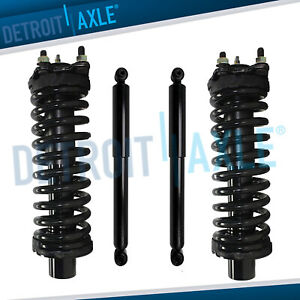 Front Struts W Coil Spring Rear Shock Absorbers For Jeep Liberty Dodge Nitro