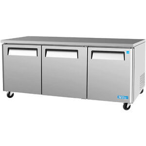 72 Commercial Undercounter Refrigerator Brand New