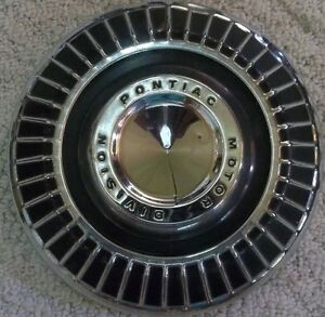 1964 Thru 1969 Pontiac 10 1 2 Inch Dog Dish Poverty Hubcap Wheel Cover Hub Cap