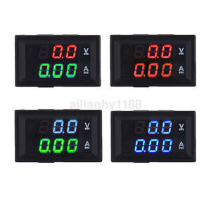 Dc 100v 10a Led Digital Display Volt Amp Current Voltage Meter Voltmeter Ammeter