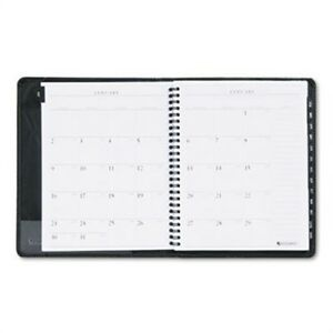 Executive Weekly monthly Planner 6 7 8 X 8 3 4 Black 2014 2015